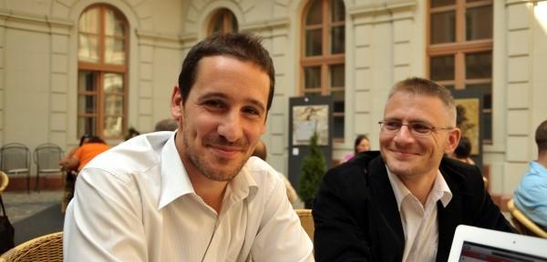 Péter Faragó and Balázs Benedek